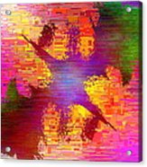 Abstract Cubed 26 Acrylic Print