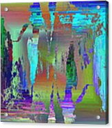 Abstract Cubed 75 Acrylic Print