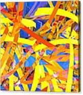 Abstract Curvy 22 Acrylic Print