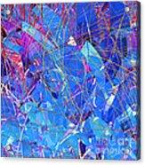 Abstract Curvy 30 Acrylic Print