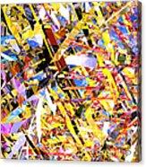 Abstract Curvy 33 Acrylic Print