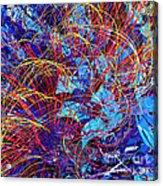 Abstract Curvy 36 Acrylic Print