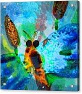 Abstract Dragon Fly Acrylic Print