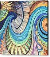 Abstract Dragon Acrylic Print