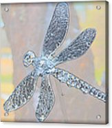 Abstract Dragonfly Acrylic Print