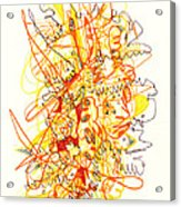 Abstract Drawing Fifty-three Acrylic Print