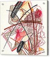 Abstract Drawing Twenty-one Acrylic Print