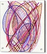 Abstract Drawing Twenty-two Acrylic Print