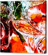 Abstract Drink Acrylic Print