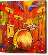 Abstract Drums Acrylic Print