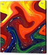 Abstract Eight Of Twenty One Acrylic Print