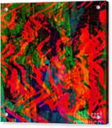 Abstract - Emotion - Rage Acrylic Print