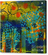 Abstract Expressions - Background Art Acrylic Print