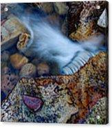 Abstract Falls Acrylic Print