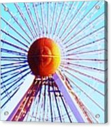 Abstract Ferris Wheel Acrylic Print