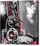 Abstract Figure Dec 14 2014 Acrylic Print