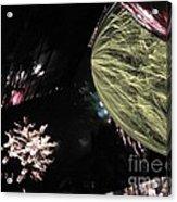 Abstract Firework - Ile De La Reunion - Reunion Island - Indian Ocean Acrylic Print by Francoise Leandre