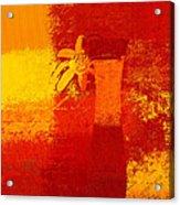 Abstract Floral - 6at01a Acrylic Print