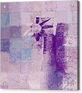 Abstract Floral - A8v4at1a Acrylic Print by Variance Collections
