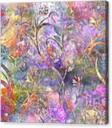 Abstract Floral Designe  Acrylic Print