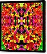 Abstract Floral Duvet Acrylic Print