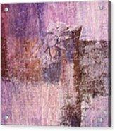 Abstract Floral- I55bt2 Acrylic Print