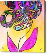Abstract Flower 2 Acrylic Print