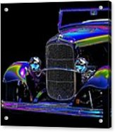 Abstract Ford - Classic Hotrods Acrylic Print