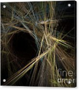 Abstract Fractal Background 01 Acrylic Print