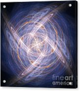 Abstract Fractal Background 17 Acrylic Print