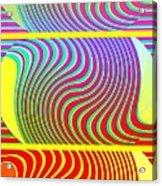Abstract Fusion 205 Acrylic Print