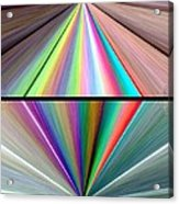 Abstract Fusion 242 Acrylic Print