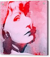 Abstract Garbo Acrylic Print