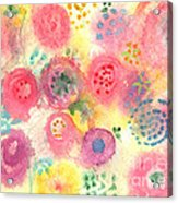 Abstract Garden #45 Acrylic Print