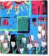 Abstract Garden Acrylic Print
