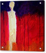 Abstract Ghost Figure No. 1 Acrylic Print