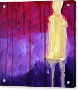 Abstract Ghost Figure No. 3 Acrylic Print
