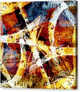 Abstract Graffiti 2 Acrylic Print