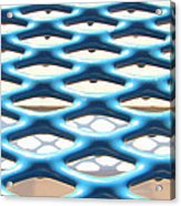 Abstract Grate Acrylic Print