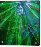 Abstract Green Lights Acrylic Print