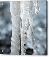 Abstract Icicles I Acrylic Print