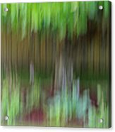 Abstract In Green Acrylic Print