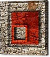 Abstract Istriana Acrylic Print