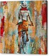 Abstract Lady 4  Acrylic Print