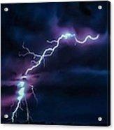 Abstract Positive Striker Lightning 13 Acrylic Print