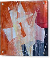 Abstract Lovers Acrylic Print