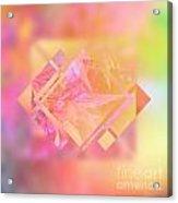 Abstract Maple Leaf Magic 3 Acrylic Print