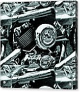 Abstract Motor Bike - Doc Braham - All Rights Reserved Acrylic Print