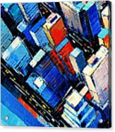 Abstract New York Sky View Acrylic Print