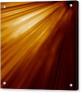 Abstract Night Acceleration Speed Motion  Acrylic Print